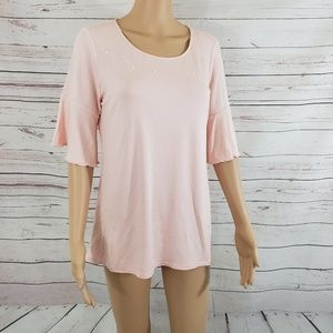 NY Collection Blouse Size M
